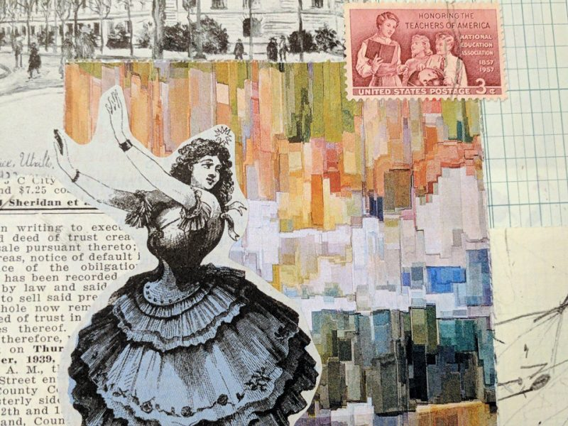 dancer collage