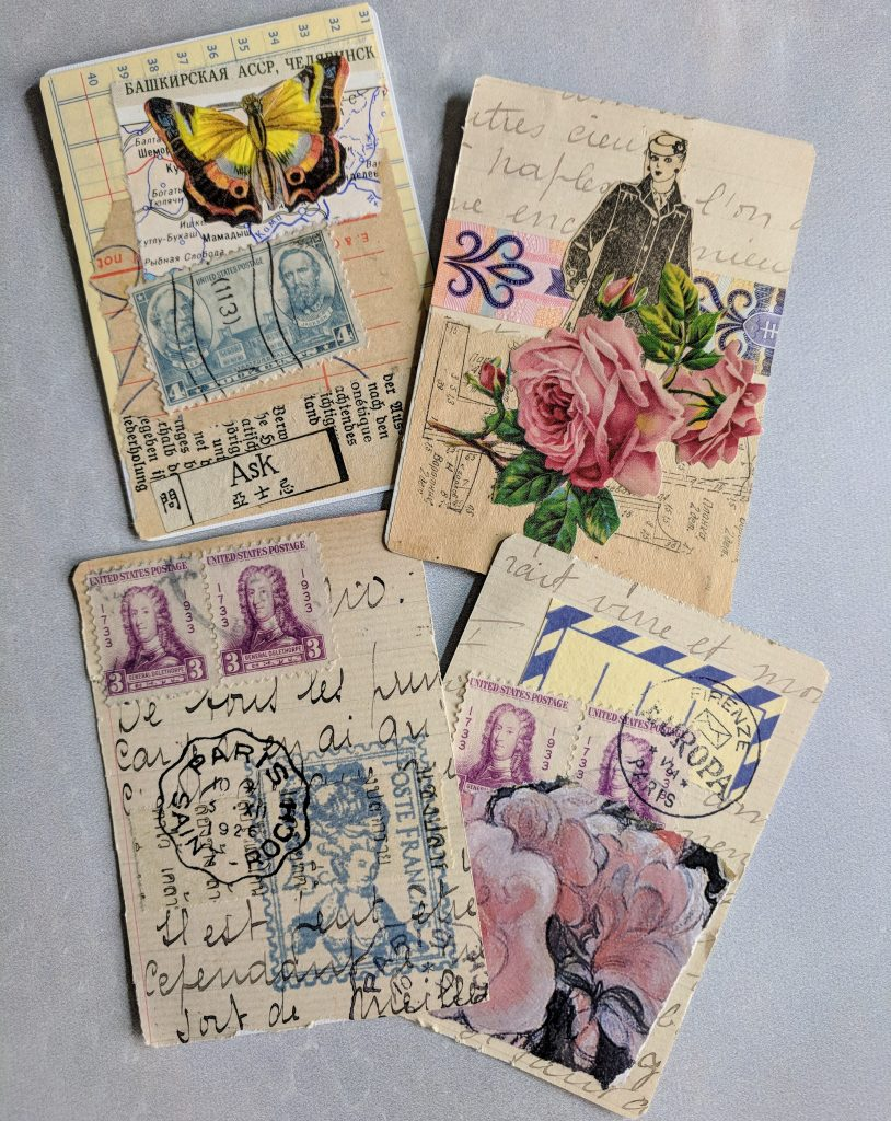 Four ATCs on display